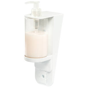 Soap, shampoo and disinfectant dispenser 0,3 l ECO