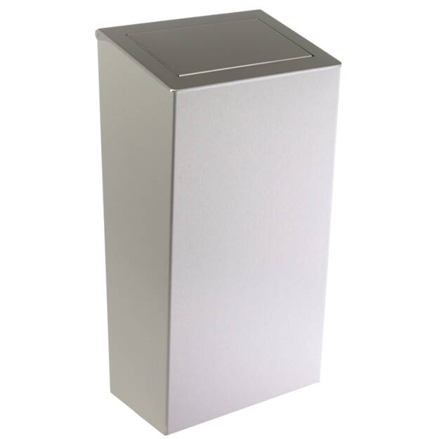 Wall-mounted wastebin with cover 50l SN M
