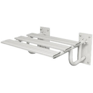 Folding shower seat with supports for disabled people SW B