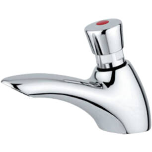 Self-closing standing basin tap 9090