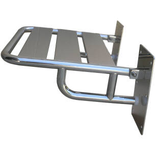 Folding shower seat with supports for disabled people SN M