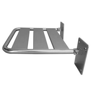 Folding shower seat for disabled people